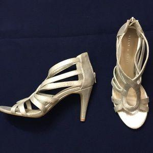 Kelly & Katie champagne heels